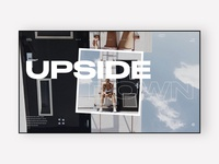 Upside Down - Category Page Header