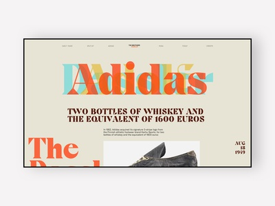 Adidas / Puma History Web Page