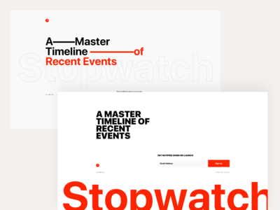 Stopwatch - Unapproved Coming Soon Pages