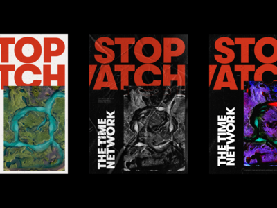 Stopwatch - Poster Explorations