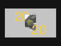 2020 Digital Playground / Landing page