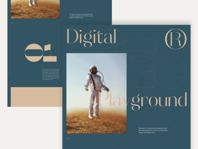 2020 Digital Playground #4 / Landing page