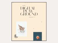 2020 Digital Playground #6 / Landing page