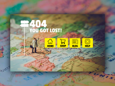 404 - you got lost