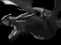 Dragon vector.