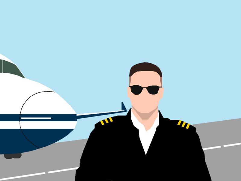 aye aye captain gimp illustration