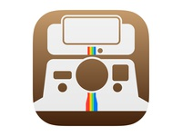 Instagram app icon for iOS7 (free vector)