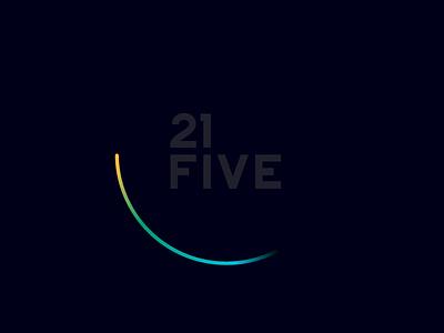 21five logo clock