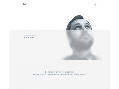 clrq.nl transparency ui webdesign white clean semplice portfolio