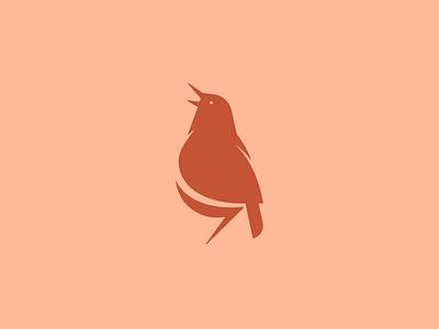 Birdy mark single icon logo