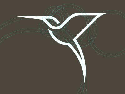 Hummingbird hummingbird symbol logo ratio