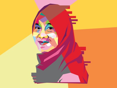 WPAP of me wpap graphic design illustration