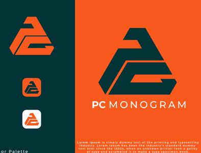 PC Monogram logo Idea logos adobe illustrator designers logotype designgraphic designer designer logo design logoinspiration logodesign branding