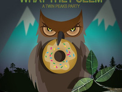 The Owls Are Not What They Seem twin peaks party