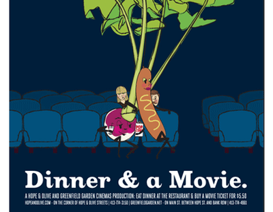 Dinner & a Movie hope  olive greenfield garden cinemas