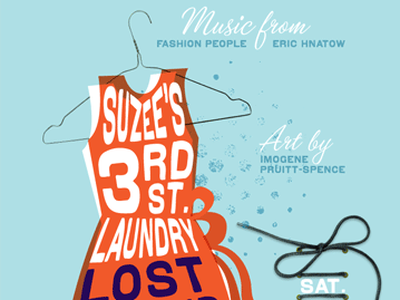 Suzee's 3rd St. Laundry Lost + Found Laundromat lost found fashion show