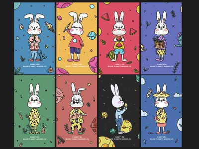 A rabbit's day