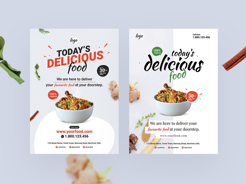 Food Flyer delicious diet foodie food templates brochure online food hygiene food flyer advertisement