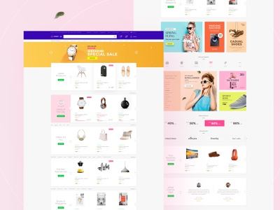 Zorro | Mutilpurpose eCommerce PSD Template landingpage homepage creative online shopping shop store uiux ui graphic webdesign website ecommerce design ecommerce online store online