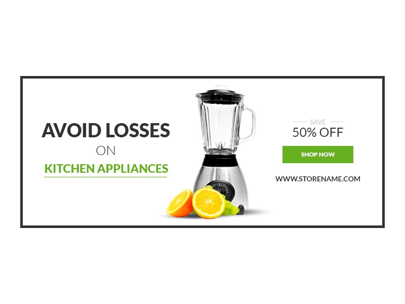 Retail Kitchen Appliances Ad Banners By Webduckdesign On