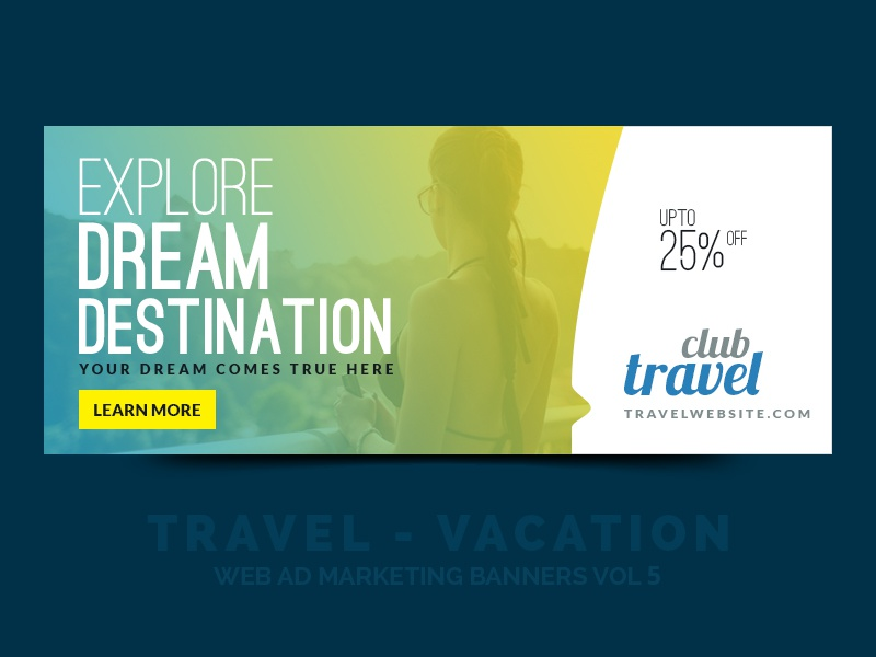 Travel Promotion Banners Frozen Banners