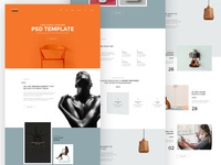 Kana - Creative Agency Psd Template
