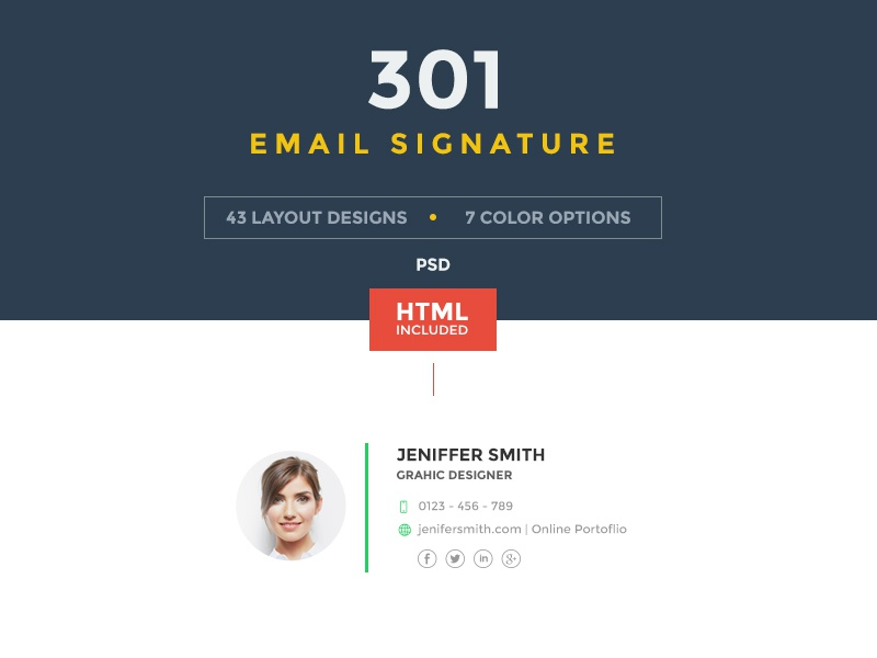 email signature by webduckdesign