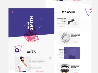 Creative Portfolio & Resume/CV Template