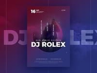 DJ Flyer / DJ Poster