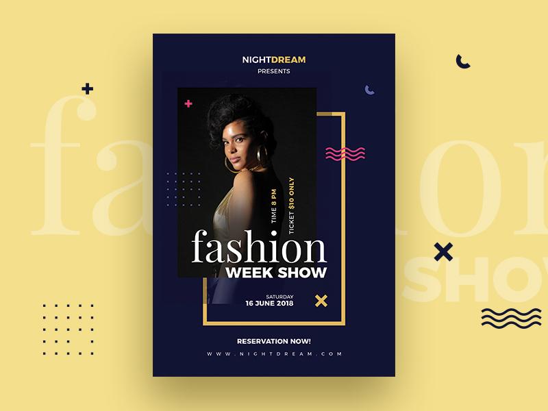 fashion flyer by webduckdesign