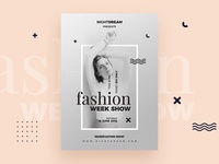 Fashion Week Flyers