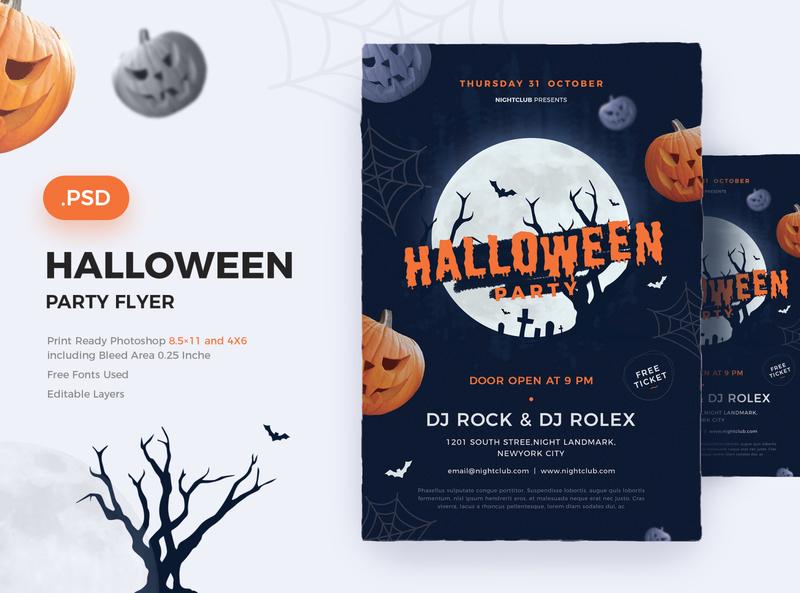 Halloween Flyer spooky