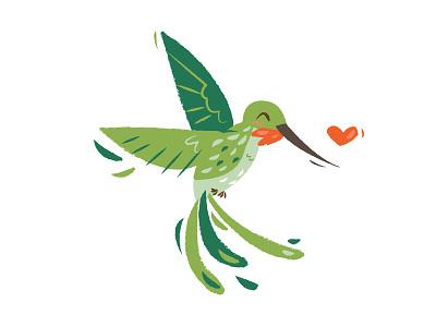 Hummingbird Love wildlife texture heart lime cute green forest endangered love hummingbird hummingbird love