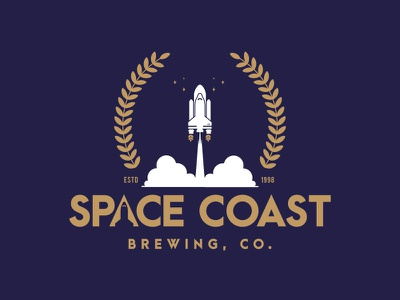 Space coast brewing co hops launch launch pad stars space travel beer count down shuttle nasa space space coast brewery