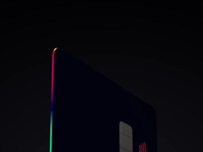 New card teaser render cinema 4d c4d motion design motion graphics after effects