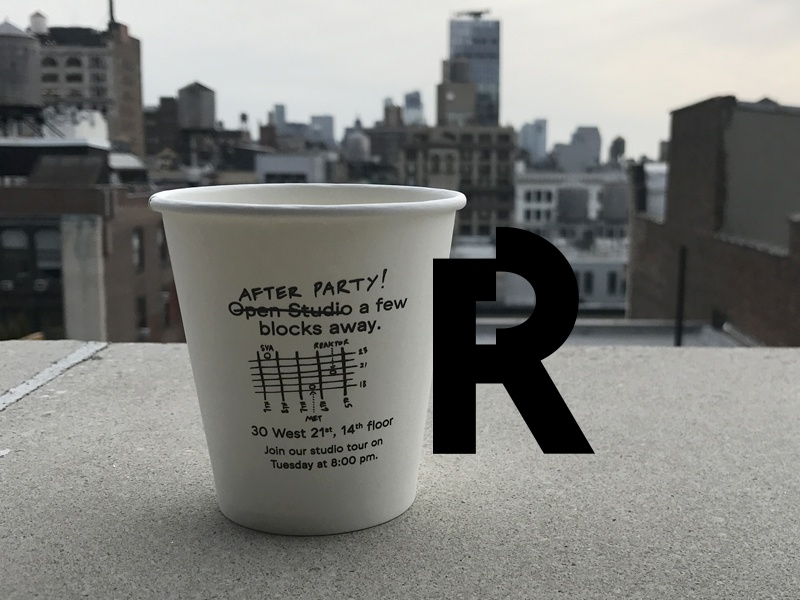 After Party! print coffee type r design conference party reaktor