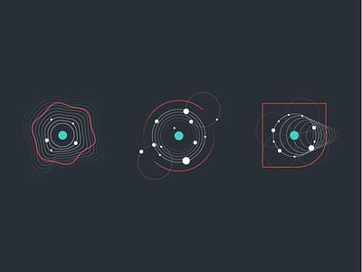 Presentation Illustrations reaktor movement data illustration dots lines