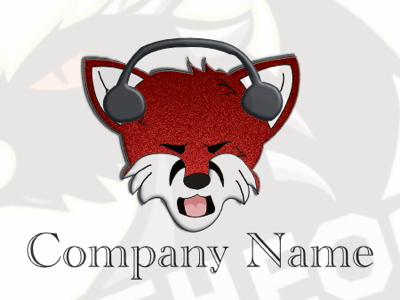 Fox Logo logo design illustration