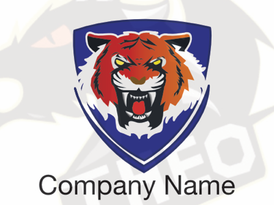 Tiger Logo mascot logo design illustration