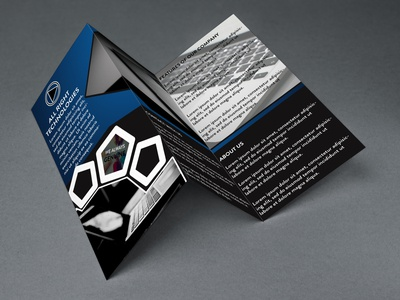 Trifold Brochure | For Institute