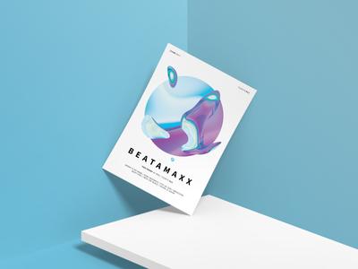 Beatamaxx flyer design
