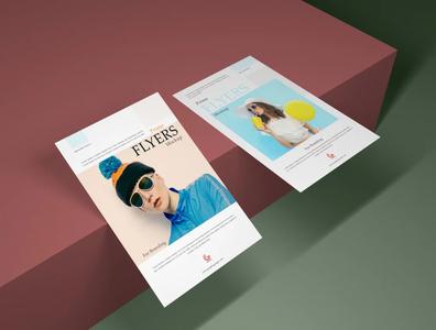 flyer mockups design