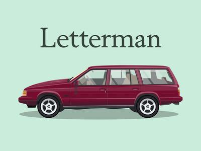 1995 Letterman 960