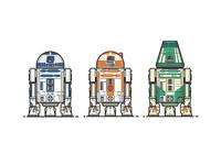 R2, R3, R4....