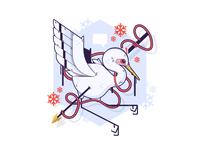 Snow Crane