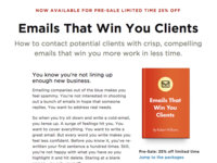 Emails that win you clients