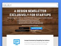 Startup Design Newsletter Redesign