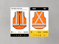 Product listing dribbble