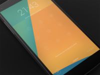 Android Future Lockscreen UI