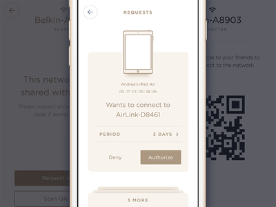 Wifi sharing app. Final touches